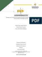 Estrategia para la resolución de un problema de análisis de insumo- producto que se puede resolver haciendo uso del álgebra matricial. (1)
