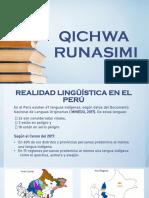 1° Clase de Quechua