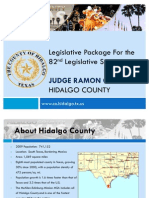 Hidalgo County Legislative Program 82nd Legislative Session