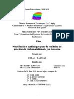 Modelisation Statistique Pour - JHILAL Fayssal_1210