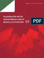 03 (Segunda Etapa) La protección de los consumidores ante el ahorro y la inversión
