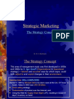 2. Strategy concept