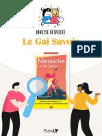 Analyse - Le Gai Savoir (version détaillée)