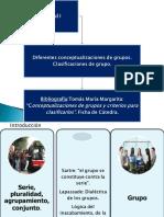 Criterios Para Clasificar y Conceptualizar Grupos