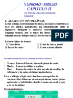 CAP. II ALFABETO DE LINEAS Y CROQUIS