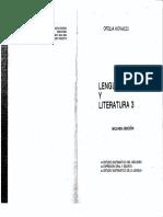 Kovacci, Lengua y Literatura 3 - Sintaxis Estructuralista