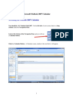 Learn MS Outlook 2007  and Calendar