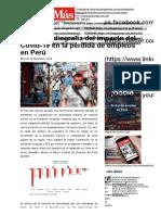 BCRP_ Radiografía del impacto del Covid-19 en la pérdida de empleos en Perú