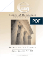 Equal Access to the Courts- Article