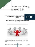 Redes Sociales Joel Palma Ignacio Perez