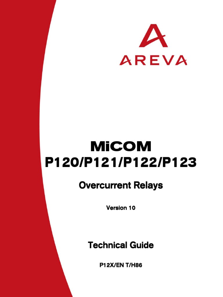 Protective Relay Application Guide Areva