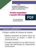 3 Modelos Matemáticos e Equações Diferenciais