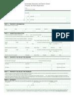 D.C. Homestead Deduction Form  (rev. 3/11)