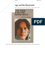 The Sage and Tthe Housewife