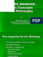 Islamic Banking Concepts and Philosophy