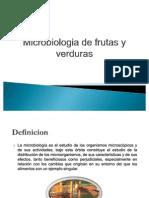 Microbiologia de frutas y verduras.