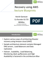 Disaster Recovery using Amazon Web Services (AWS)