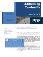 2011-03 Addressing Tendonitis (Thor Falk)