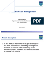Introduction to Cost and Value Management L 1[1]