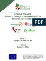 Manejo e implemantación de sistemas Ecuador