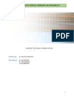 Rapport - Descriptif des procédés LBF 2