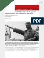 BBC - Adolf Hitler, cómo murió el líder nazi hace 75 años y por qué hubo tanto misterio sobre el destino final de su cuerpo