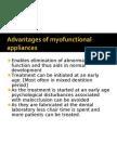 Advantages of myofunctional appliances