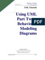 UML_Tutorial - Diagramas de Modelagem Comportamentais