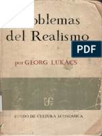 Georg Lukacs Problemas Del Realismo