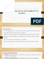 L-1 Operating System and Graphical User Interface