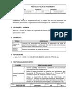 PREPARAR FOLHA DE PAGAMENTO