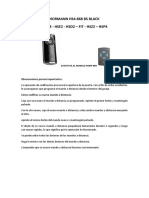 programacion mando HORMANN HS4-868 BS BLACK