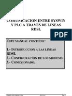 ComunicacionSYSWINmedianteLineaRDSI
