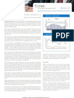 CREB Stats 2011 February Metro Stats