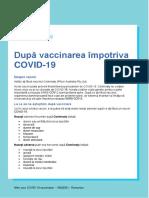 Covid 19 Vaccines Dup Vaccinarea Mpotriva Covid 19 After Your Covid 19 Vaccination