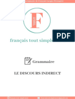fts-Grammaire-Discours Indirect
