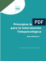 Guía Didáctica. II Ed.pdf Intervención Telepsicológica