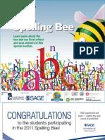 Spelling Bee 2011