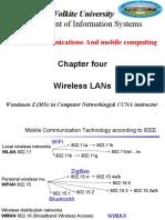 chapter 4-wirless LAN