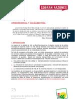 PROGRAMA DE GOBIERNO 2011 - DOS HERMANAS - ATENCIÓN SOCIAL Y CALIDAD DE VIDA