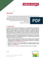 PROGRAMA DE GOBIERNO 2011 - DOS HERMANAS - EDUCACIÓN