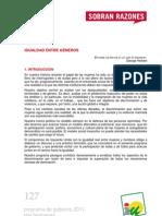 Programa de Gobierno 2011 - Dos Hermanas - Igualdad