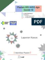 PPT RINA - Pasien HIV AIDS dgn Covid 19
