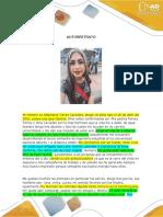 Tarea 2 - Creación de Texto Descriptivo, Autorretrato-stephania Torres.