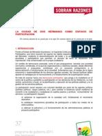 PROGRAMA DE GOBIERNO 2011 - DOS HERMANAS - PARTICIPACIÓN CIUDADANA