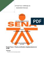 11.9.3 Packet Tracer - VLSM  PRACTICA.PKA