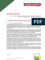 Programa de Gobierno 2011 - Dos Hermanas - Seguridad Ciudadana