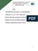 Dossier Informática Aplicada 2020