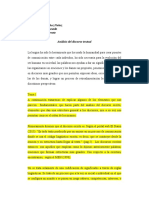 Análisis Del Discurso Textual