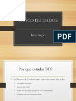 Aula 1 - Banco de Dados
